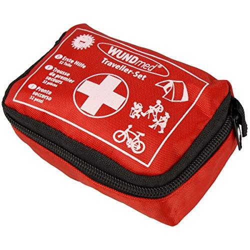 Wundmed Erste Hilfe Set 32-teilig in praktische Etui inkl. Gürtelschlaufe