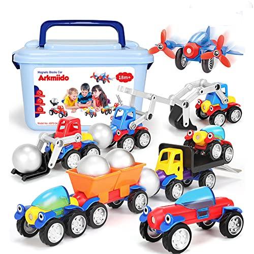 Montage Spielzeug Auto Set Bagger...