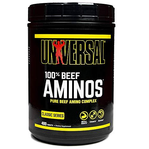 Universal Nutrition Beef Amino Standard - 400 Tabletas
