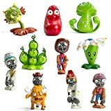 Toy Inspired Plant vs Zombie Series Action Figure Set Toy Series Game Character Character Display Toy PVC (Style-2)