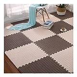 AMDHZ Interlocking Puzzle Mat Antideslizante Cómodo Proteccion Bebé Niño Anti-caída Color Múltiple, 60x60x1,2 Cm (Color : C, Size : 4-Tiles)