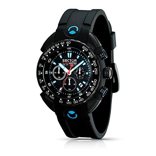 Sector Herren-Armbanduhr Shark Master R3271678125