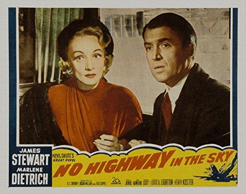 No Highway in the Sky, James Stewart, Marlene Dietrich, Glyn