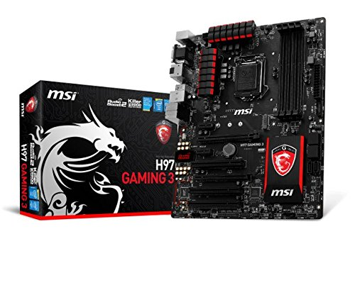 MSI 7918-002R Mainboard Gaming 3 Socket (ATX, Intel H97, 4X DDR3 Speicher, 4X USB 3.0)