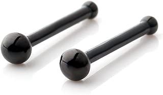 Best black stud nose pin Reviews
