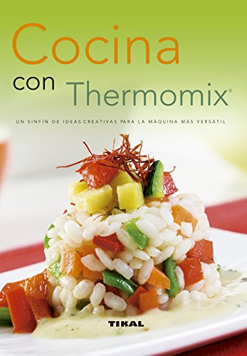 Cocina Con Thermomix (Recetario De Cocina)