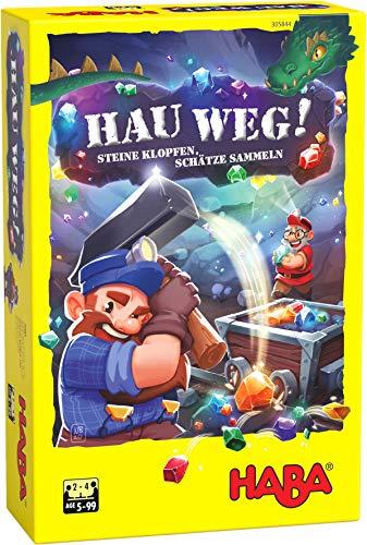 HABA 305844 - Hau weg!, Spiel ab 5 Jahren, made in Germany
