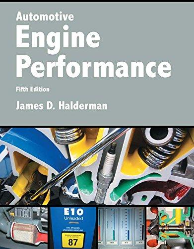 Automotive Engine Performance (2-downloads) (Halderman Automotive Series)