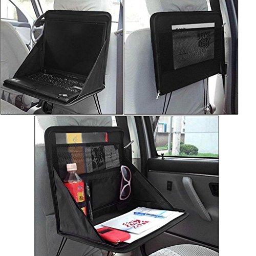 kabalo Faltung Auto Sitz Zurück Storage Tidy Organizer DVD Laptop-Halter Arbeiten Tablett Travel