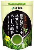 簡単お茶じょうず 抹茶入り緑茶 1kg