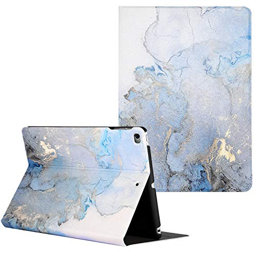 Artcase iPad Air 2/Air 1 Case, iPad 6th/5th Generation (9.7 inch 2018/2017) Case, Marble Case PU Leather Stand Cover with Auto Wake/Sleep (Gold Map)