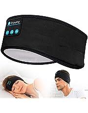 Sömlösa hörlurar – Navly V5.0 sport pannband hörlurar med ultratunna HD-stereohögtalare, perfekt för sport, sidosopar, flygresor, meditation och avkoppling