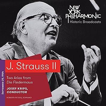J. Strauss II: Two Arias from Die Fledermaus (Recorded 1964)