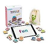 Marbotic - Lowercase Smart Letters for iPad, letras minúsculas interactivas de madera para aprender a leer y a escribir de forma práctica y divertida, edad: 3-5 años