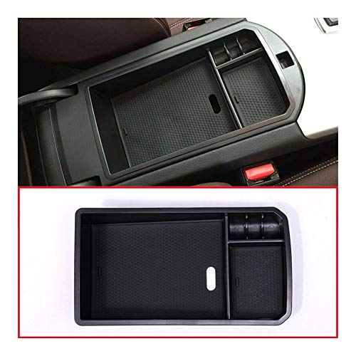 Happy Shop Armlehne Aufbewahrungsbox Zentraler Storage Box-Handschuh Armlehne Box Tray for BMW X3 F25 2011-2016 / X4 f26 2014 2015 2016 Zubehör Car Styling Innere (Color : Black)