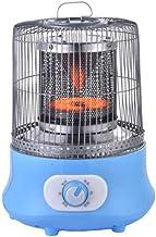 Heater Calentador portátil para el hogar y la Oficina de Seguridad de Escritorio del hogar Calefacción eléctrica Estufa Radiador Calentador Fan Machine para el Invierno Jaula de pájaro,Azul