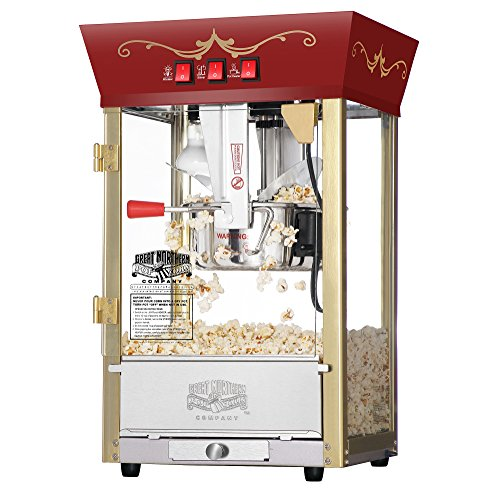 Great Northern Red Matinee Movie Popcorn Machine