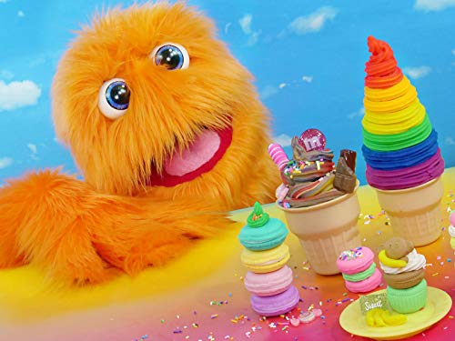 Fuzzy Puppet the ice cream salesman! Gergu learns to remain calm.