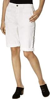 Style & Co. Side-Stripe Bermuda Shorts