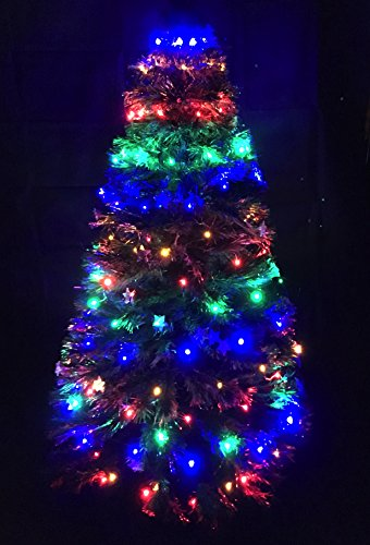 150 Multi Led Chasing Christmas Tree Light Net - para 4/5 pies Árboles de Navidad
