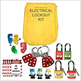 safety house loto Lockout Tagout Yellow Pouch Loto Kit-452