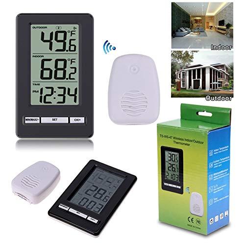 Digital Min Max Außen Dual Thermometer Außenthermometer Garten Gewächshaus