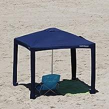 Safecastle New Cool Cabanas 3 Size M UPF 50 Cotton Poly Canvas Providing 50+ UV Protection 8 Pockets Solid Navy - Medium