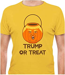 Tstars - Trump Or Treat Donald Trump Pumpkin Halloween Trumpkin T-Shirt