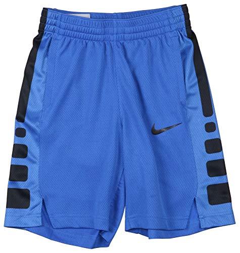 Nike Big Boy's (8-20) Dri-Fit Elite Stripe Basketball Shorts (Game Royal, Medium)
