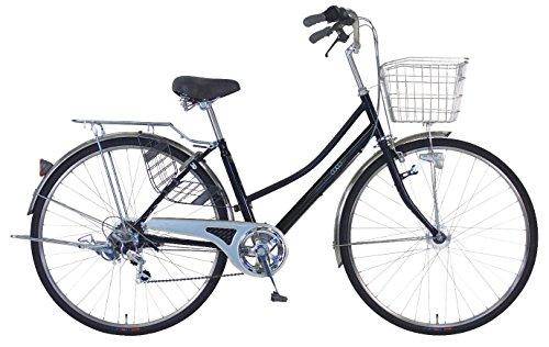 C.Dream(シードリーム) ココWスペシャル CW76-SP 27インチ自転車 シティサイクル ブラック 6段変速 BAA 100%組立済み発送