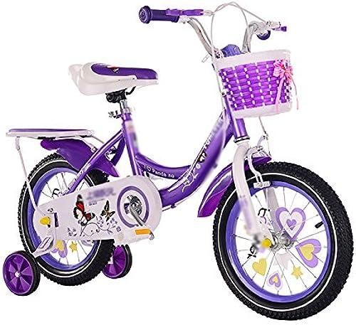 Kinderfürr r Kind-Wagen-fürr r 12 14 16 18 Zoll-mädchen-Jungen-Baby-Radfüren 2-3-6-8 Jahre Altes Rosa-Rosan-Rot-Purpur