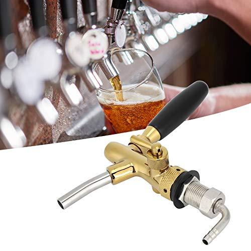Sxhlseller Grifo de Cerveza de Rosca G5 / 8, dispensador de Grifo de Cerveza de latón, Grifo de Cerveza de barriles de Cola Adecuado para Bares o familias
