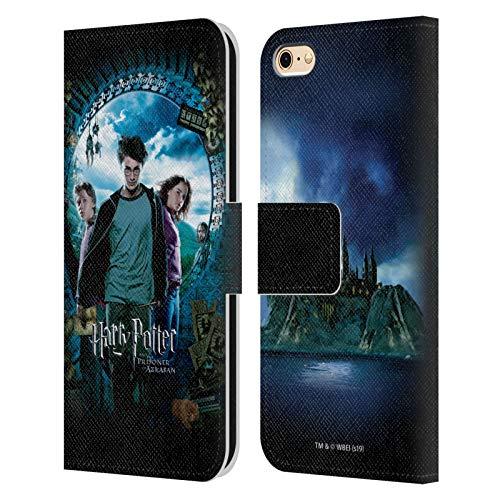 Head Case Designs sous Licence Officielle Harry Potter Ron, Harry & Hermione Poster Prisoner of Azkaban IV Coque en Cuir à Portefeuille Compatible avec Apple iPhone 6 / iPhone 6s