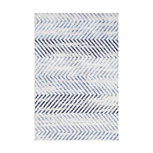 Tapis JXLBB de Salon Polyester Chevet 0.8x1.5m Polyester Moderne Minimaliste Court Velvet Épais 10mm Mode Couleur Clair Chambre Balcon