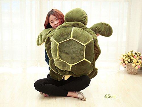 flashing lights- Kissen Moderne Persönlichkeit Nette Spielwaren Seeschildkröte-Puppe-Schildkröte-große Kissen-Kissen ( größe : 85cm )