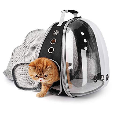 Lollimeow Pet Carrier Backpack, Bubble Backpack Carrier, Cats and Puppies,Airline-Approved, Designed...