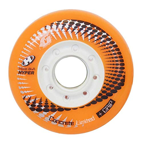 HyperWheels - Inline-Skates-Komponenten in Orange (Orange), Größe 76/84