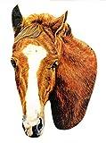 Chestnut Thoroughbred Horse Magnet - Chestnut Horse Magnet - Hand Cut - Wooden - HO11-J