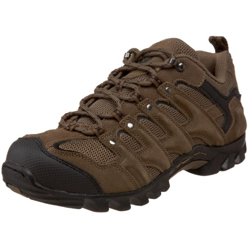 Nevados Men's Talus Lo Hiking Boot,Dark Brown/Black,12 M US