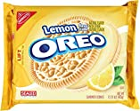 Oreo Lemon Creme Cookies, 15.25 Ounce