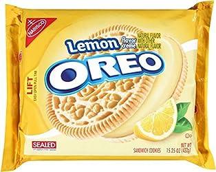 Oreo Lemon Creme Sandwich Cookies (15.25-Ounce Package)