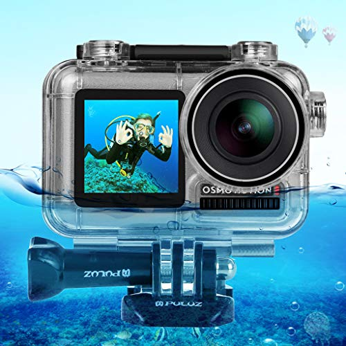 Fine for DJI Osmo Action Camera 40M Sports Camera Waterproof Housing Case Shell Diving HD Underwater...