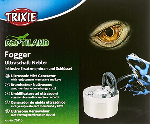 Trixie 76116 Fogger Ultraschall-Nebler, inkl. Ersatzteile-Set, ø 3,8 × 5 cm