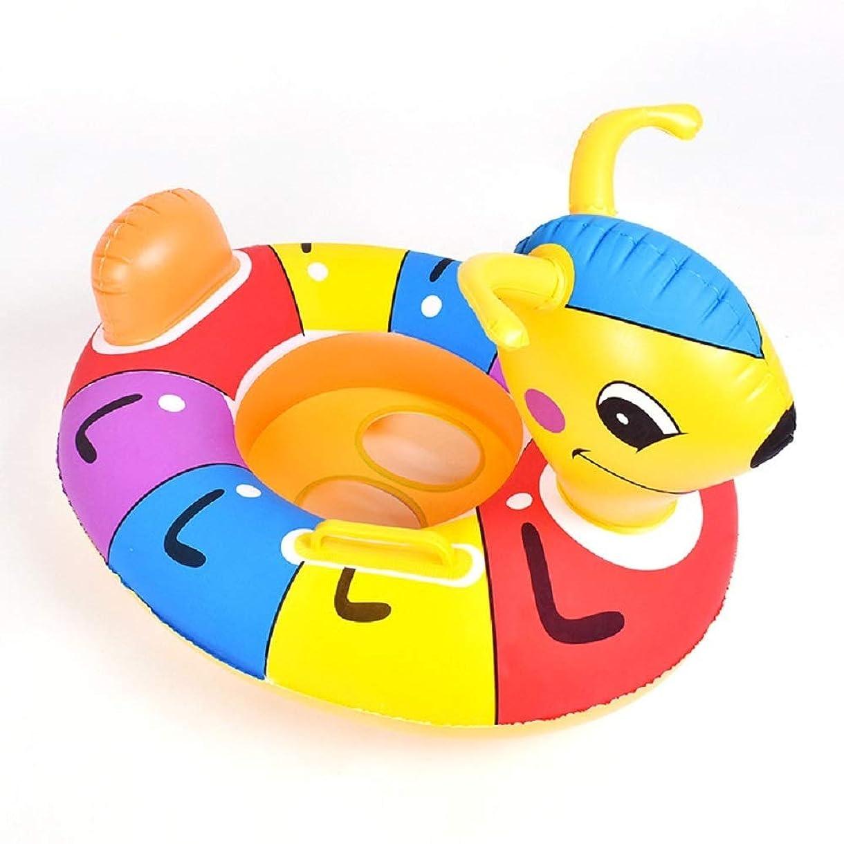 ベール同種の肩をすくめる蟻 浮き輪 子供用    海水浴 2-5歳 水遊びに大活躍 安全 丈夫 スイミング ビーチ 水遊び お風呂  水泳補助具 ( PATTERN : Ant )