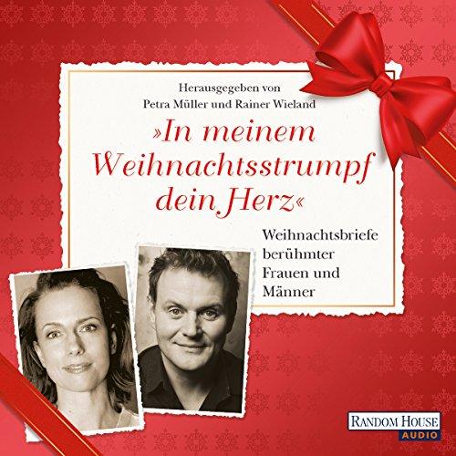 """""""In meinem Weihnachtsstrumpf dein Herz"""" audiobook cover art"""
