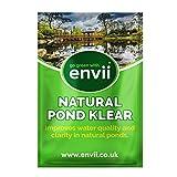 Envii Natural Pond Klear - Trattamento di Pulizia per Laghi Naturali, elimina acque Verdi (Tratta 20.000 Litri)