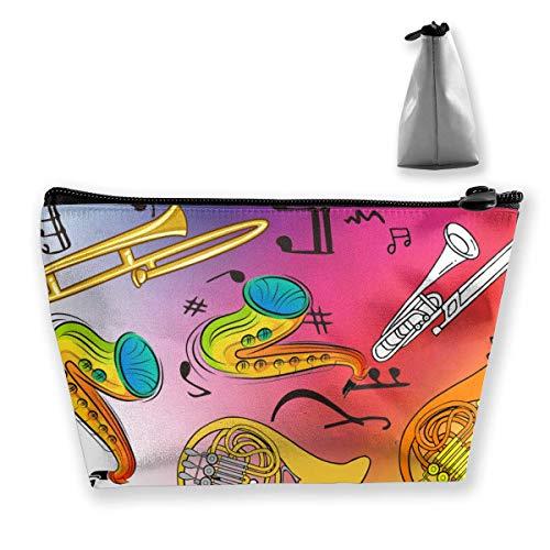 Instruments de musique Portable Maquillage Sac de Réception Sac de Rangement Grande Capacité Main Travel Wash Bag