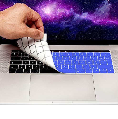MyGadget Funda Teclado AZERTY [Frances] para Apple MacBook 13' 15' (desde 2016)...