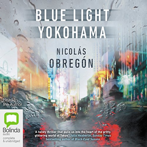 Blue Light Yokohama audiobook cover art