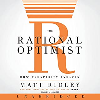 The Rational Optimist cover art